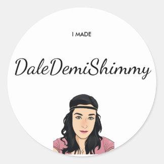Etiqueta do Shimmy de Dale Demi
