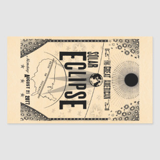 Etiqueta do Showprint-Estilo de 2017 eclipses