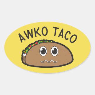 Etiqueta do Taco de Awko