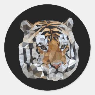 Etiqueta do tigre