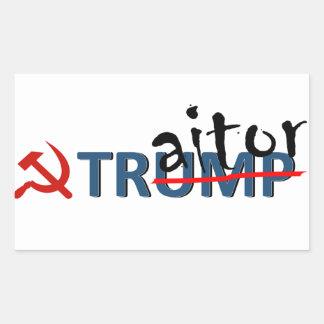 Etiqueta do trunfo do traidor