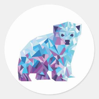Etiqueta do urso polar