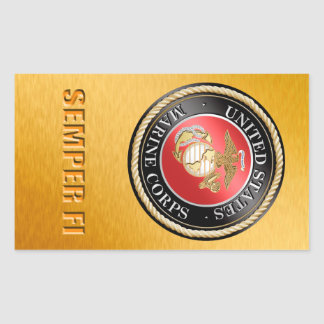Etiqueta do USMC Semper Fi