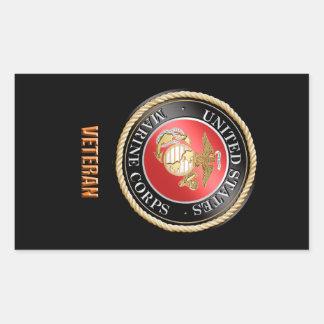 Etiqueta do veterano do USMC