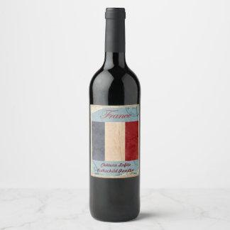 Etiqueta do vinho de France