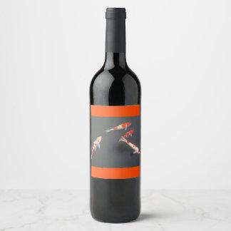 etiqueta do vinho do peixe dourado