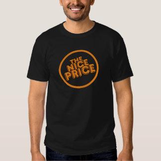 """""""Etiqueta do vinil e da gaveta do anos 80 do preço Tshirts"""