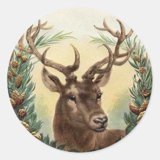 Etiqueta dos CERVOS, cena da queda com cervos