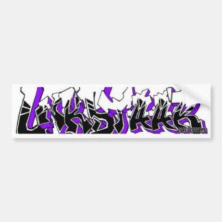 Etiqueta dos grafites de UnknownStaar Adesivo Para Carro