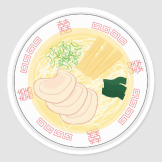 Etiqueta dos Ramen, folha de 20 (Hakodate Shio)