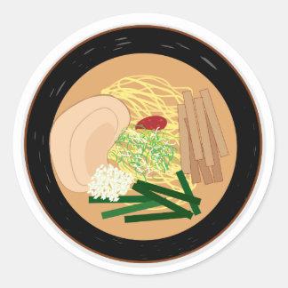 Etiqueta dos Ramen, folha de 20 (Kyoto Shoyu)