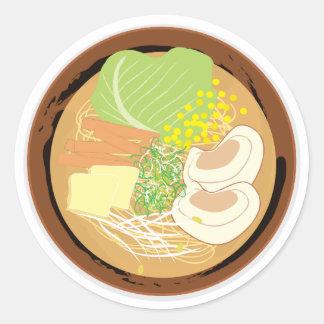 Etiqueta dos Ramen, folha de 20 (Miso de Sapporo)