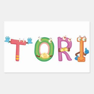 Etiqueta dos Tori