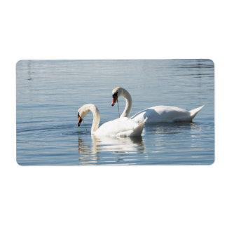 Etiqueta Duas cisnes