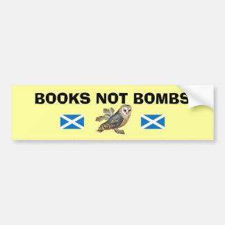 Etiqueta escocesa da coruja da independência das adesivo para carro