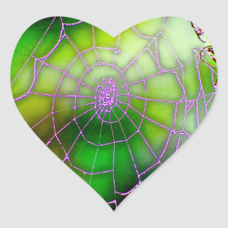 Etiqueta escura da Web Adesivo Coração