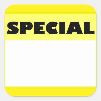 Etiqueta especial adesivo quadrado