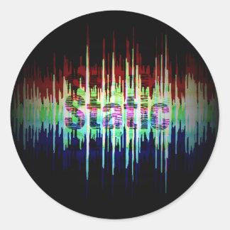 Etiqueta estática do logotipo (preto)