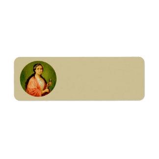 Etiqueta Estreito do St. Apollonia (BLA 001)