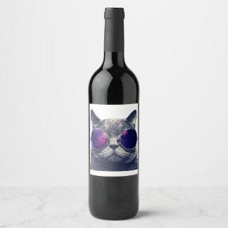 Etiqueta feita sob encomenda da garrafa do vinho
