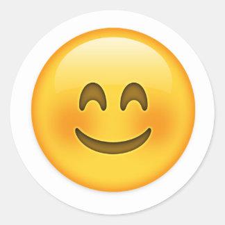 etiqueta feliz