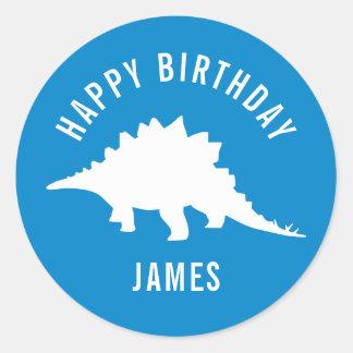 Etiqueta feliz da festa de aniversário do adesivo