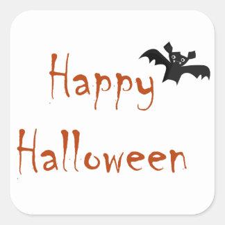 Etiqueta feliz do bastão do Dia das Bruxas