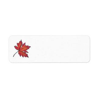 Etiqueta Folha de bordo - vermelho