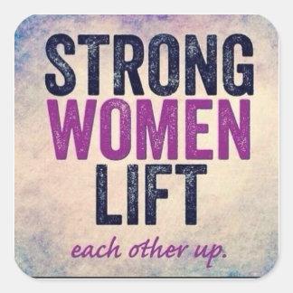 Etiqueta forte das mulheres