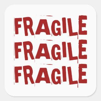 Etiqueta frágil