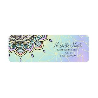 Etiqueta Fulgor Pastel Manala ID359