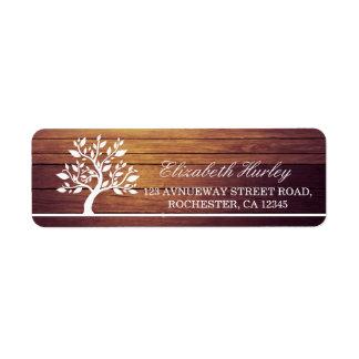 Etiqueta Fundo elegante elegante moderno da madeira do