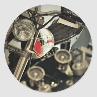 Etiqueta Funky das motocicletas dos velomotor do