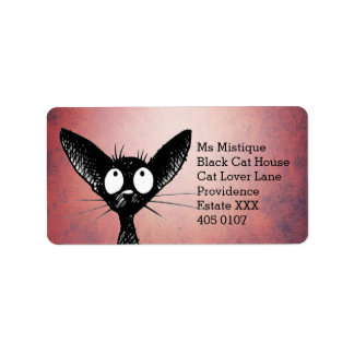 Etiqueta Gato preto oriental de Shorthair