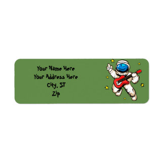 Etiqueta Gesto da vitória do astronauta