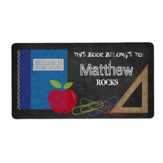Etiqueta Grampos de papel ajustados de Apple do livro