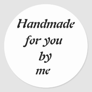Etiqueta Handmade customizável