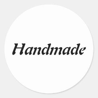 Etiqueta Handmade simples