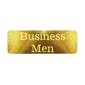 Etiqueta Homens de negócio