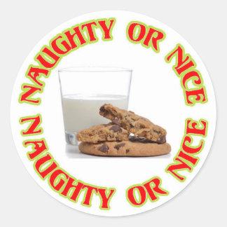 Etiqueta impertinente ou agradável do leite e do adesivo