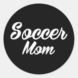 Etiqueta impressa mamã do futebol