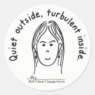 Etiqueta interna turbulenta
