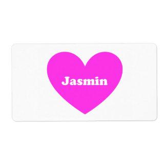 Etiqueta Jasmim
