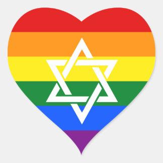 Etiqueta judaica extravagante do orgulho