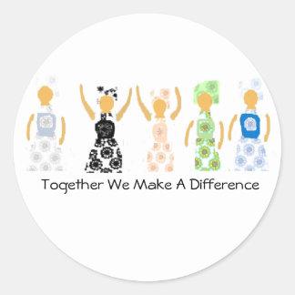 Etiqueta junto nós fazemos uma diferença
