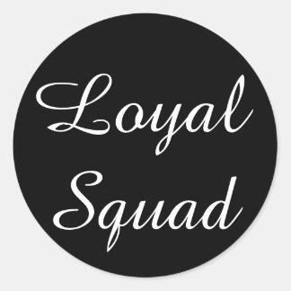 Etiqueta leal do pelotão