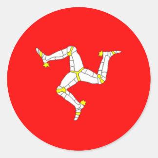 Etiqueta Manx da bandeira