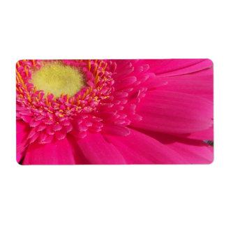 Etiqueta Margarida cor-de-rosa de Gerber