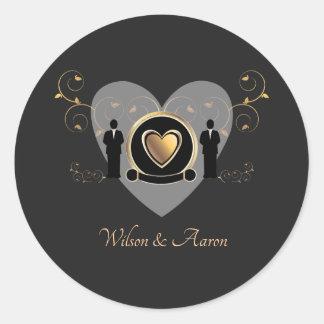 Etiqueta masculina do casamento | do coração do