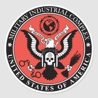 Etiqueta militar do complexo industrial